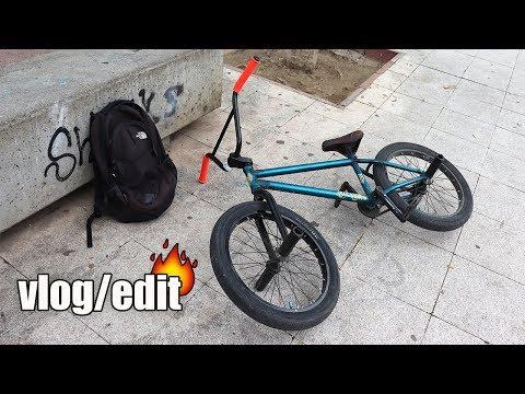 Montar solo también puede ser divertido! - vlog/bmx edit