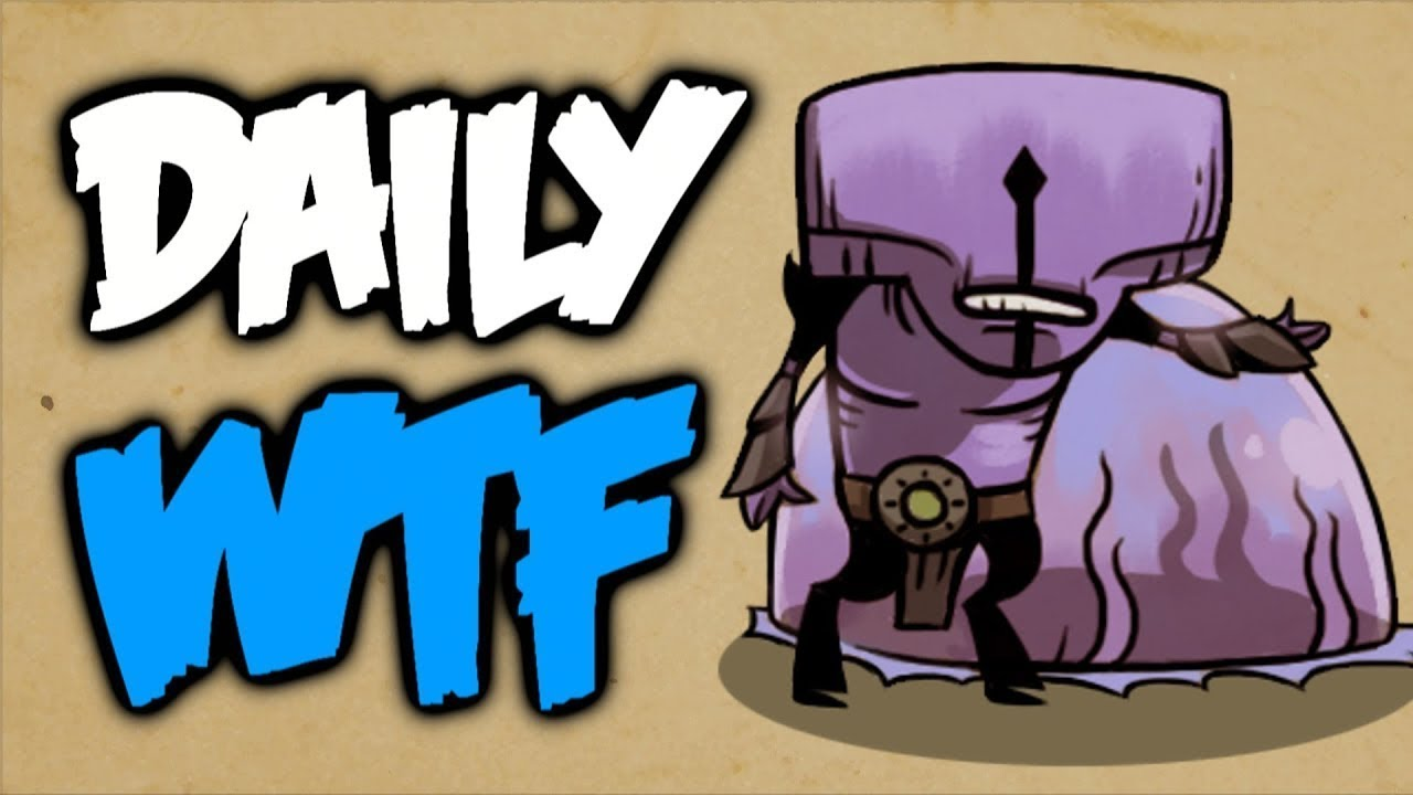 Dota 2 Daily WTF - Never ever Flex thumbnail