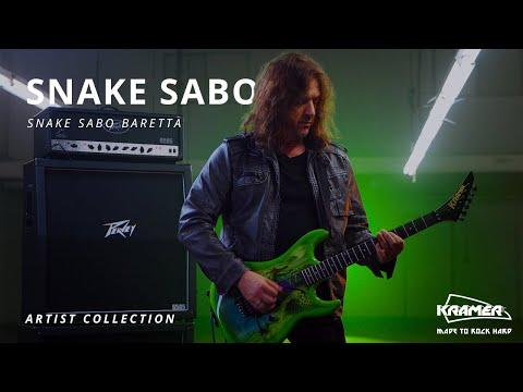 hqdefault - Kramer Snake Sabo Baretta Green Guitar Reverse Headstock
