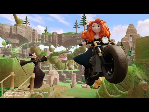 Disney Infinity - Maleficent and Merida Figures and Gameplay! - Disney Infinity 2.0 News