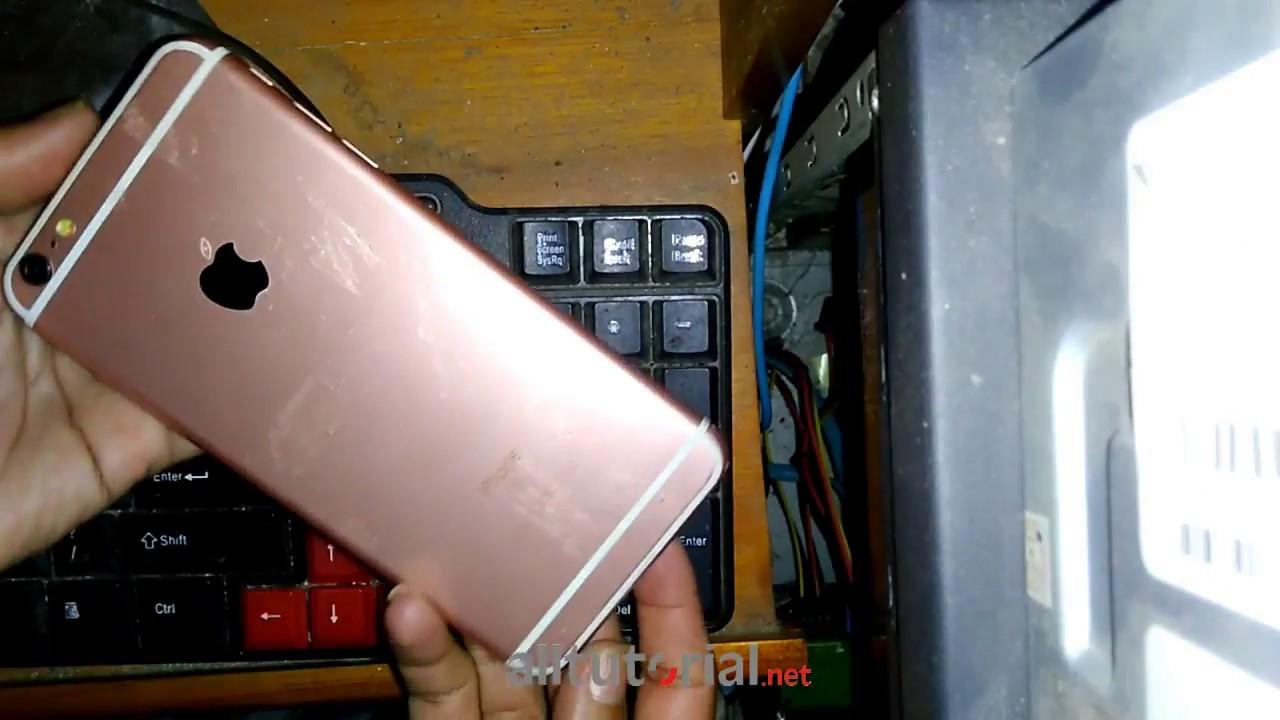 Cara Flash iPhone 1S Plus Replika