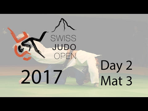 Swiss Judo Open 2017 - Day 2 - Mat 3