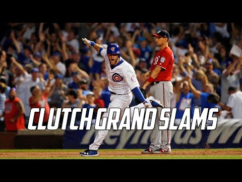MLB | Clutch Grand Slams