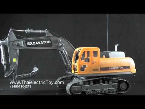 ของเล่นรถแบคโฮ หรือ แม็คโครบังคับ ขนาดใหญ่ สเกล 1:12 Hobby Engine Excavator