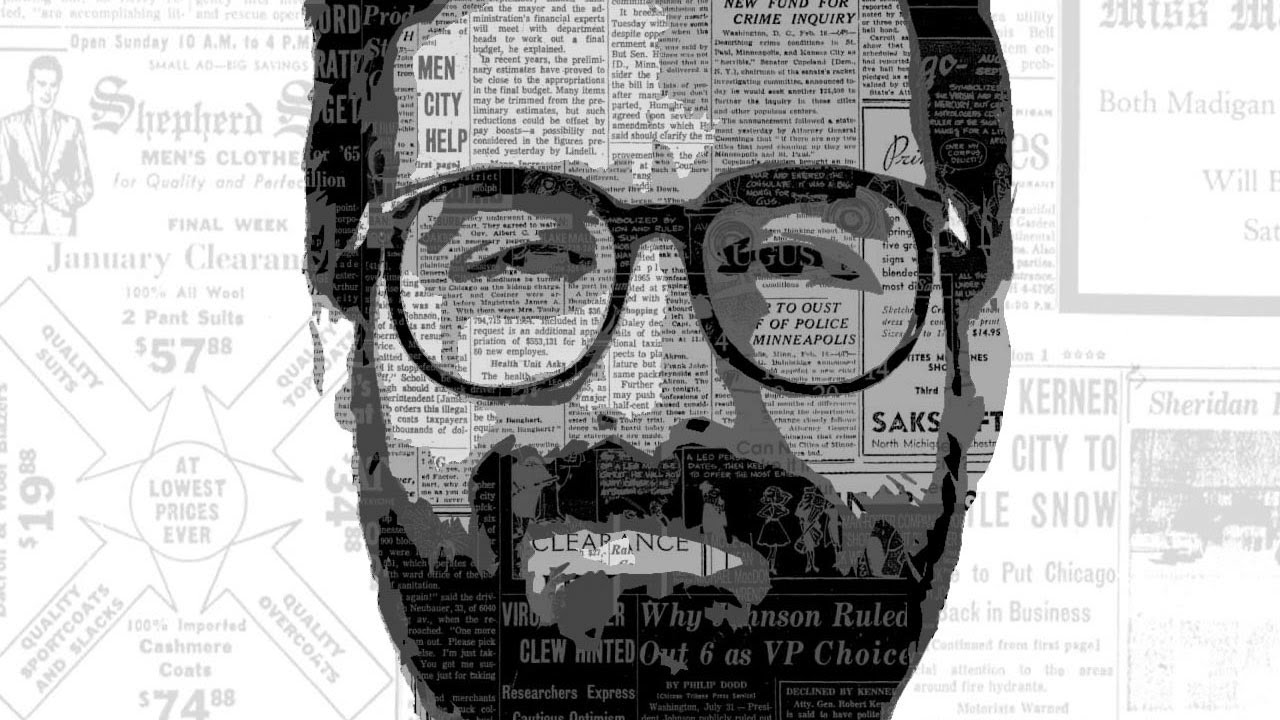 How to Create a Stylized Portrait Made From Newspapers