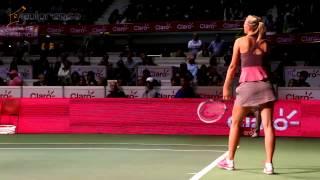 María Sharapova y Ana Ivanovic, enamoraron con su tenis