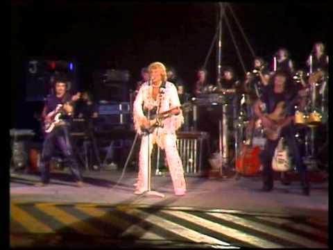 TF1 live Johnny Hallyday porte avion Foch Brest 1979
