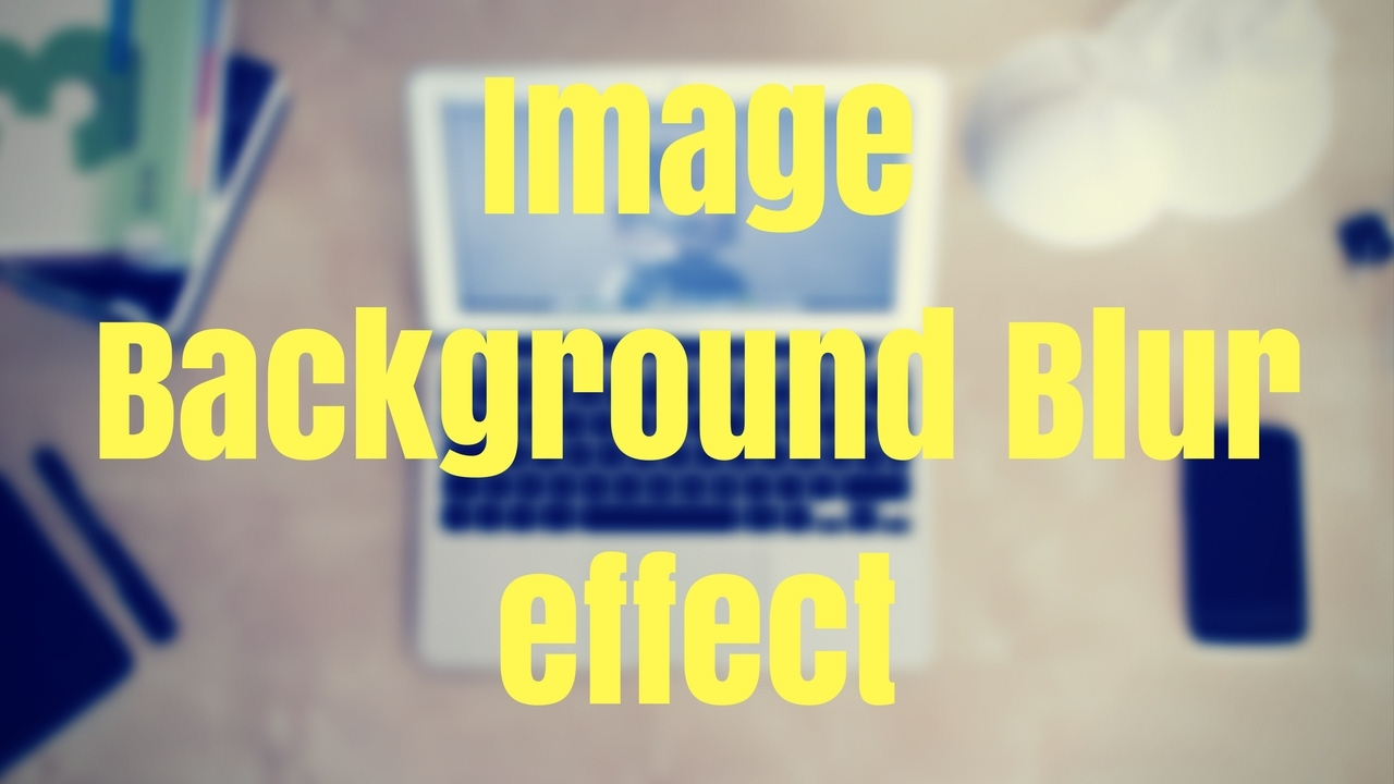 how to blur an image online and overlay text for free youtube