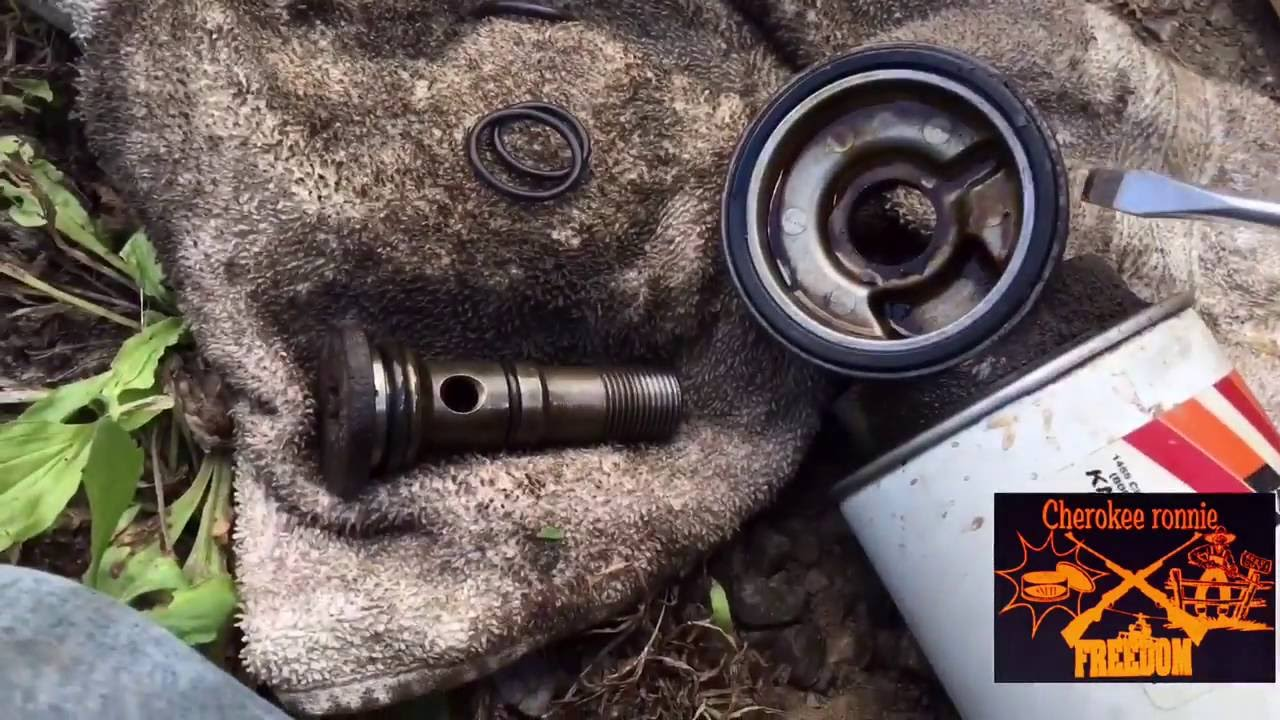 Jeep Cherokee 40l Oil Filter Adapter Leak Fix Youtube 2003 Wrangler Fuel Location