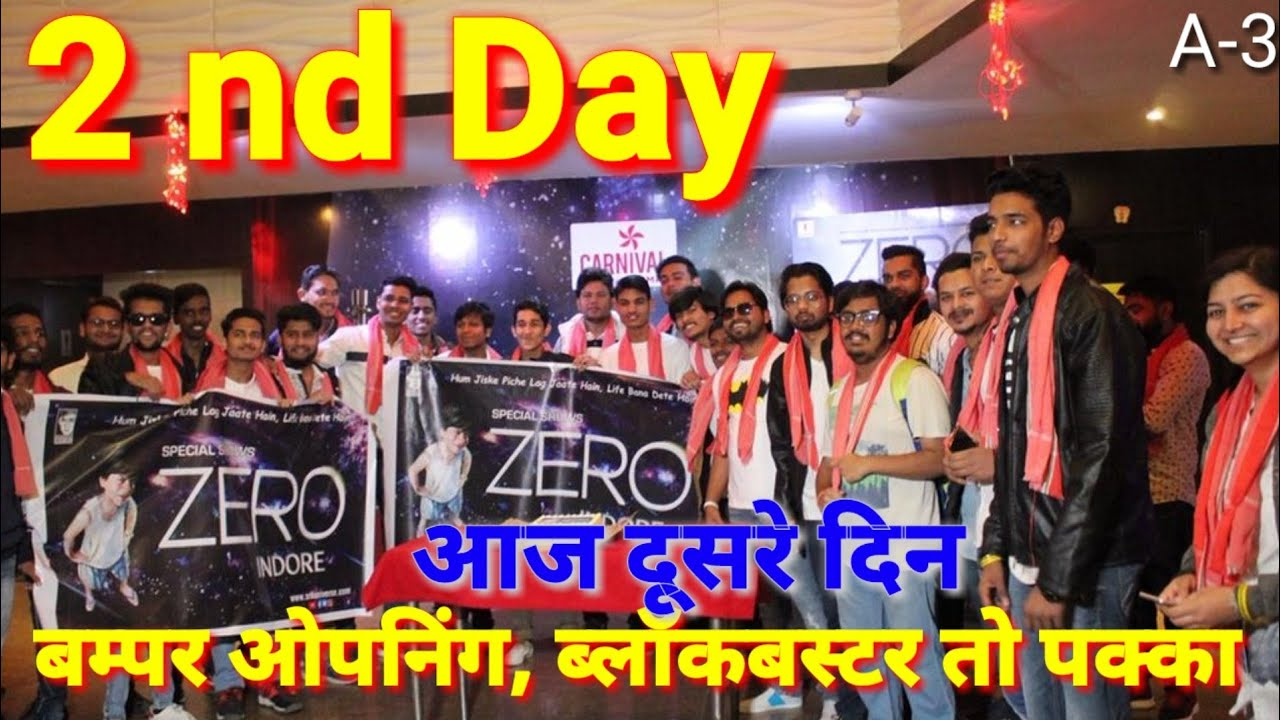 414 Mb Today On The Second Day Shahrukh Khans Zero Will Film