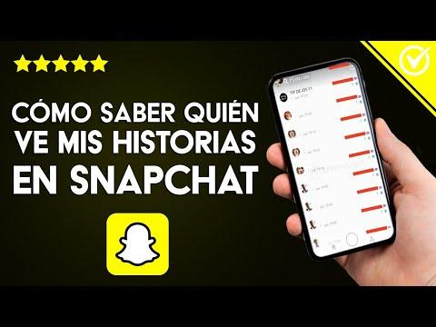 Cómo Saber Quién ve mis Historias en Snapchat y Cuantas Veces lo ha Hecho