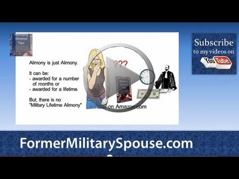 Military Spouse ID Card - Divorce