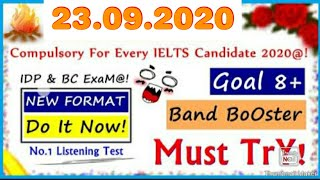 The IELTS listening Test| Learning English.