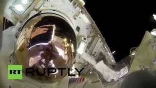 ISS: NASA astronauts take you on a spacewalk with GoPro