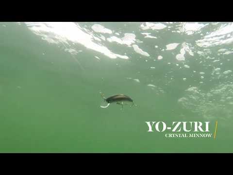 How Lures Swim: Yo-Zuri Crystal Minnow