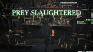 Bloodborne Any% Speedrun in 32:47