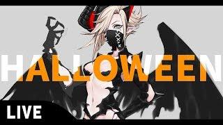 [LIVE] 【お絵描き】HALLOWEENスキンのデザイン描くよ!【LIVE】