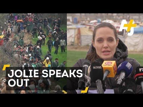 Angelina Jolie Is Begging The World To Do More For Refugees