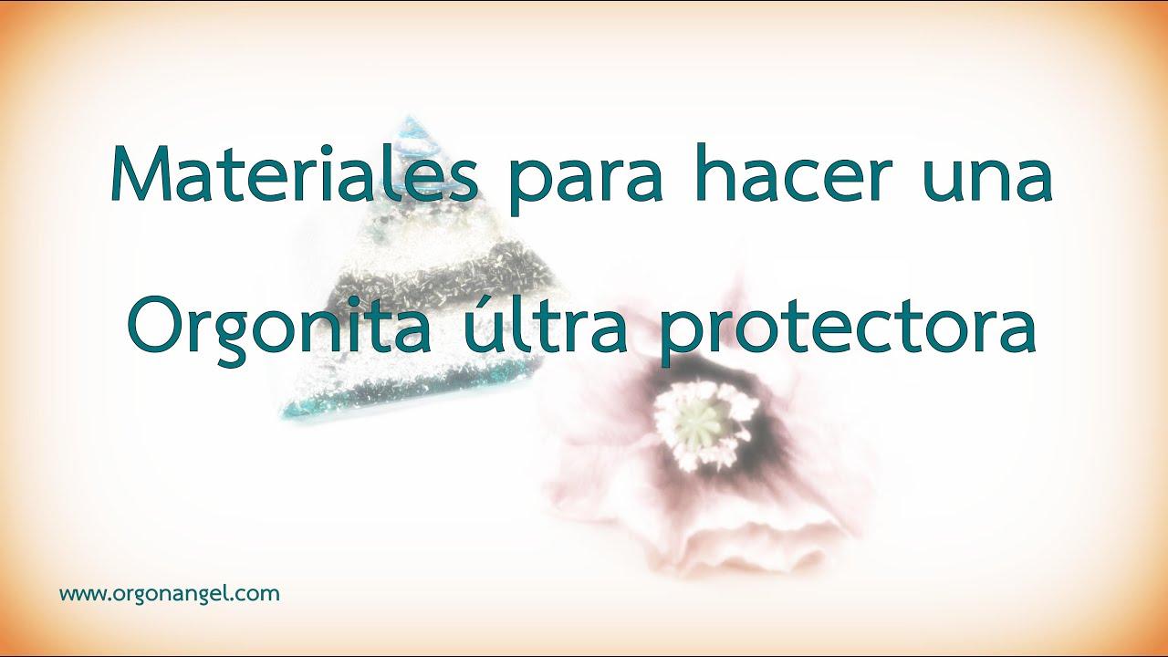 Materiales para hacer Orgonita Ultra Protectora - Orgonangel
