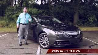 2015 Acura TLX Test Drive Review