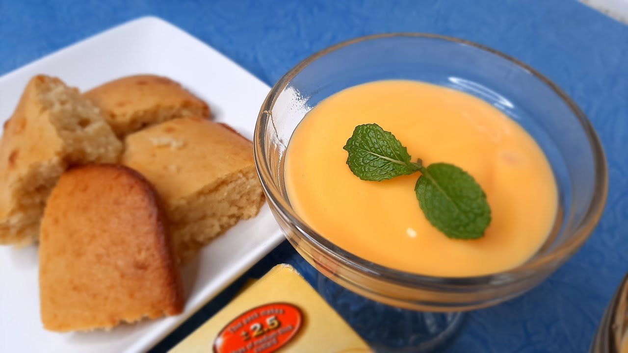 Easy vanilla custard dessert | How to make custard with Moirs custard powder | South African Recipe