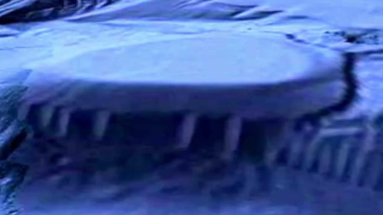 California Coast Reveals A Underwater Entrance To An Alien Base