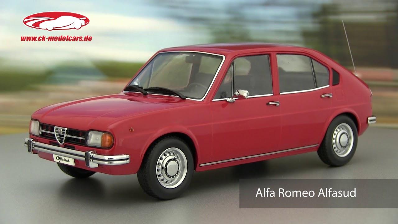 1:18 KK-Scale  />/>NEW/</< rot Alfa Romeo Alfasud 1974