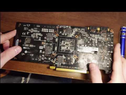 EVGA Geforce GTX 970 Teardown and Cleaning