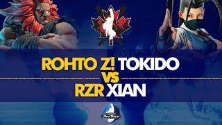 ROHTO Z! Tokido (Akuma) vs RZR Xian (Ibuki) - Canada Cup 2019 Top 8 - CPT 2019