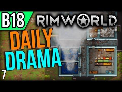 RimWorld Beta 18 | Urgent Walls (Lets Play RimWorld / Gameplay part 7)