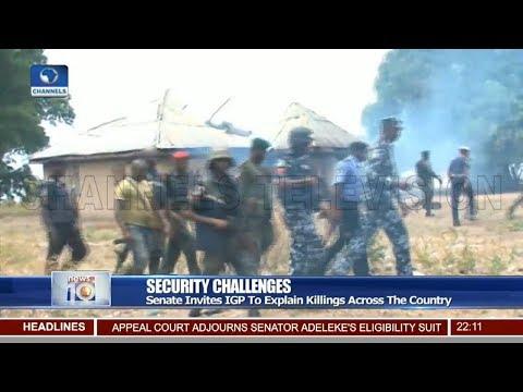 Senate Invites IGP To Explain Killings Across The Country