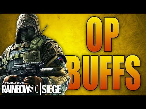 OPERATOR BUFFS IN RAINBOW SIX SIEGE