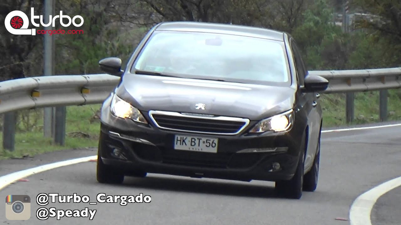 Test Drive  U0026 Review Peugeot 308 2015 Puretech