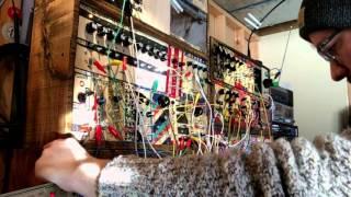 Adventures in Synthesis Pure Data drum machine DIY modular