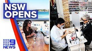 Coronavirus: NSW pubs, clubs, beauty salons open | Nine News Australia