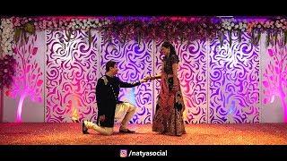 groom surprise dance performance on aaj se teri natya social