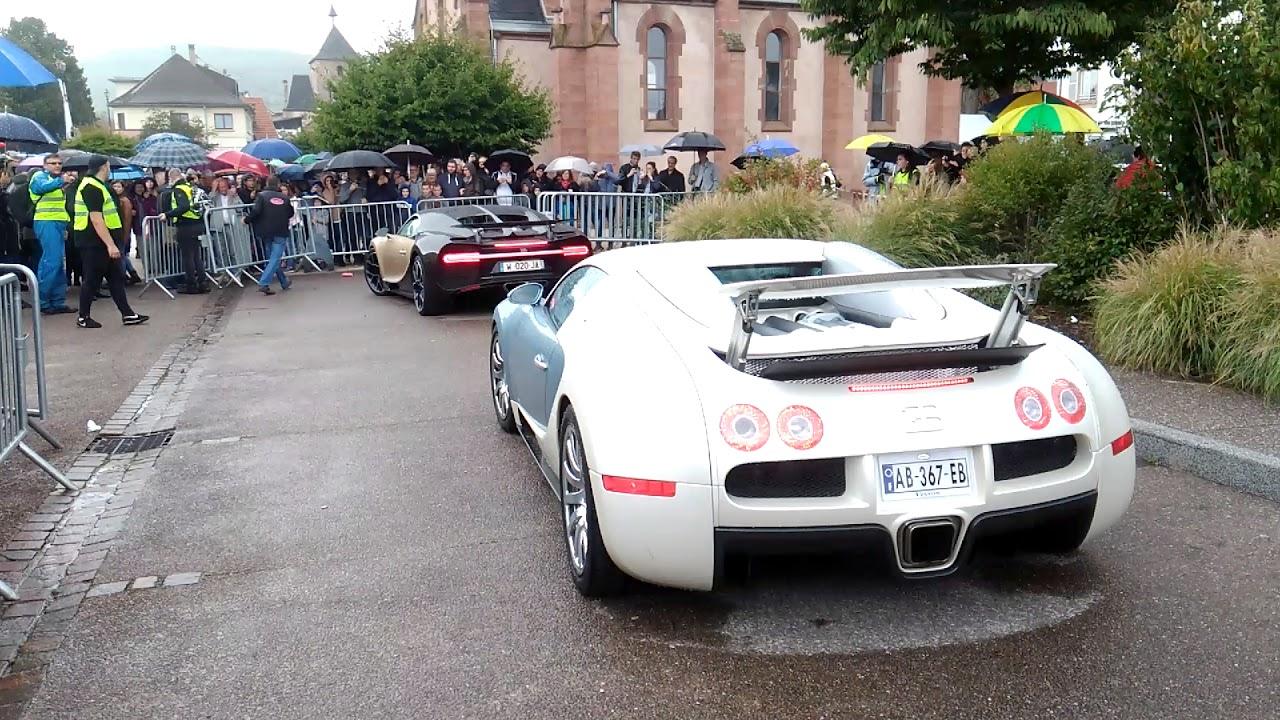 bugatti veyron et chiron À molsheim - youtube