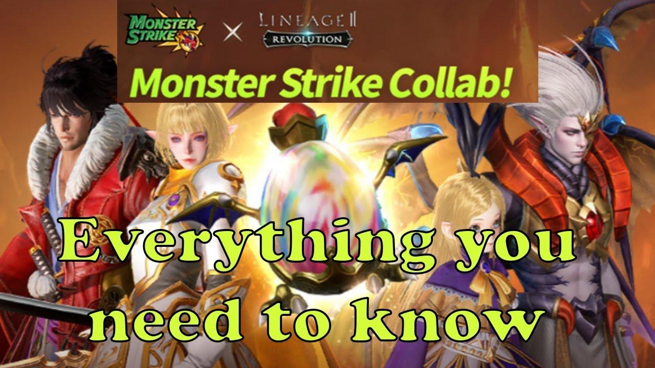 Lineage 2 Revolution: Monster Strike Events