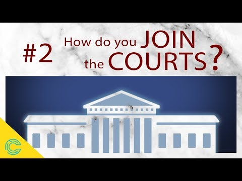 The US Federal Court System: How Do You JOIN The Courts?