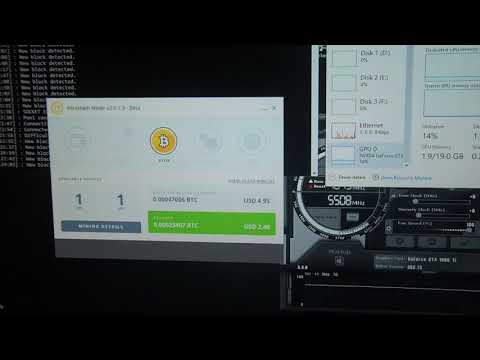Single 1080ti Nicehash Mining. D1
