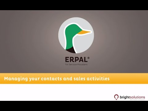 02 ERPAL for Service Providers - Working with the CRM