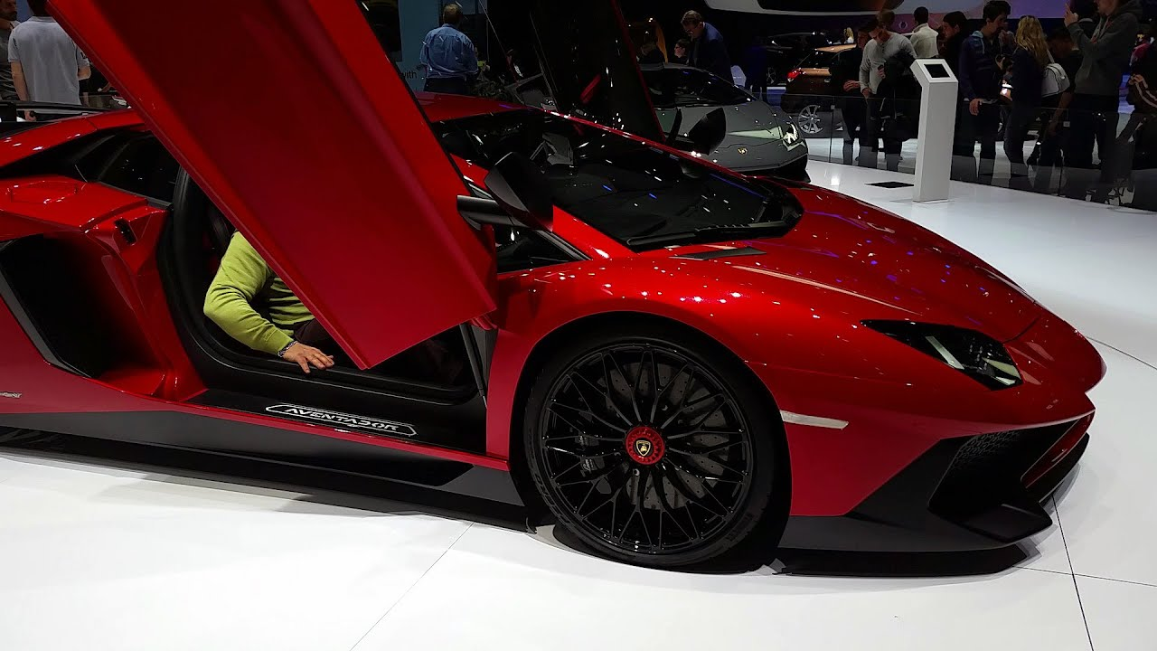 Fastest Car In The World Wallpaper Lamborghini Aventador Lp 750 4 Sv Au Salon De Gen 232 Ve 2015