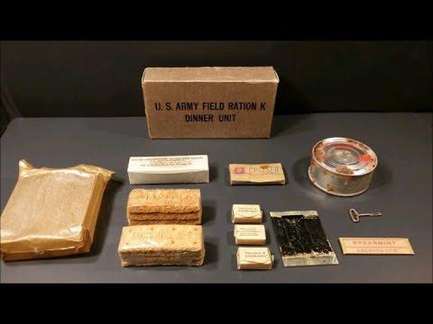 1943-45 Oldest Food Eaten| K-Ration Taste Test | Veterans Day Special | MRE Review | Remembrance Day