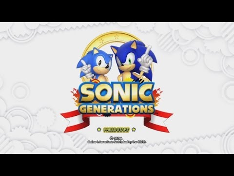 Let's Play Sonic Generations! (Part 1)
