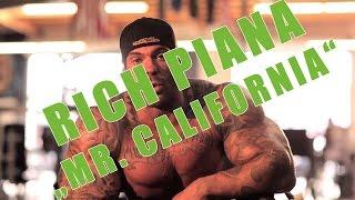 RICH PIANA: Mr. California - Motivation und Einstellung - Gym is my Home