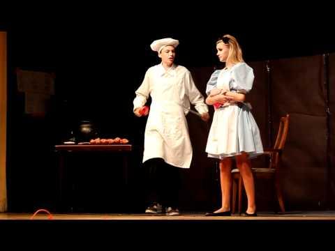 "Cook in ""Alice in Wonderland"" Los Alisos Middle School, June 15, 2011"