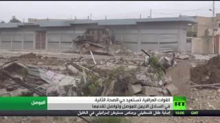 القوات العراقية تتقدم في أيمن الموصل