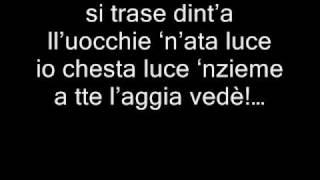 Gigi D'Alessio All'atu munno...CON TESTO