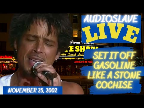 Audioslave's AMAZING Live Debut in New York on November 25, 2002