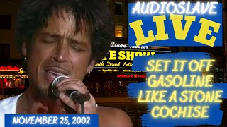 Audioslave's AMAZING Live Debut in New York on November 25, 2002